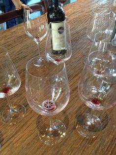 Sassicaia wine in Bolgheri. tasting in summer