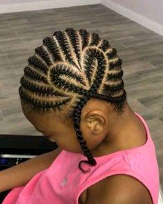 Toddler Braided Hairstyles, Little Girl Braid Hairstyles, Black Kids Hairstyles, Little Girl Braids, Natural Hairstyles For Kids, Baby Girl Hairstyles, Braids For Kids, Natural Hair Braids, Natural Hair Styles