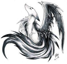 Shadow Wolf | Demon Shadow Wolf Photo by ElementalGelade | Photobucket