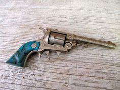 turquoise pistol - Google Search