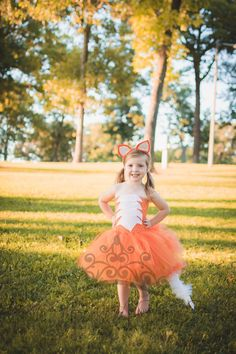 Check out this item in my Etsy shop https://www.etsy.com/listing/471759167/fox-tutu-dress-girls-size-12-18-months