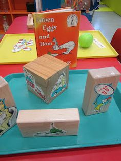 Retelling stories with blocks :-)