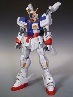 GUNDAM GUY: HGBF 1/144 Crossbone Gundam w/o Bone Custom - Custom Build
