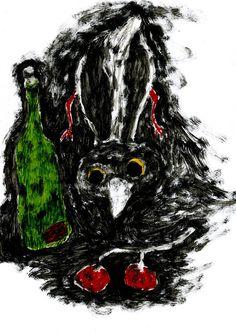 вороны \ crows on Behance
