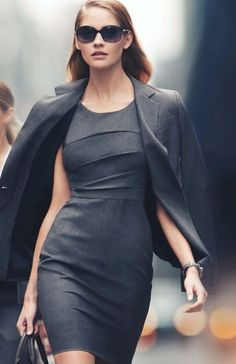 Throw on a blazer to complete your business outfit! #women #business #fashion