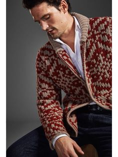 JACQUARD CARDIGAN LIMITED EDITION