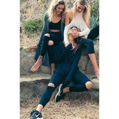Cut Loose Legging via Polyvore featuring pants, leggings, loose fit leggings, loose fitting yoga pants, legging pants, blue leggings and loose pants