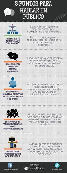 """""""5 Puntos para Hablar en Publico"""""""