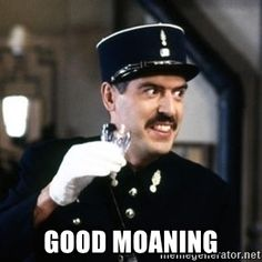 allo allo -  good moaning Create Your Own Image, Dad's Army, Comedy Tv Shows, British Comedy, Silly Things, Vintage Tv, Old Tv, Classic Tv, Best Shows Ever