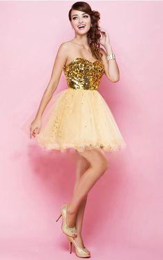 Zipper Short A-line Natural Sweetheart Formal Dresses mdea7553