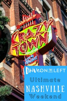 Our pick for having the ultimate weekend in Nashville, Tennessee. A super fun city totally worth the trip!