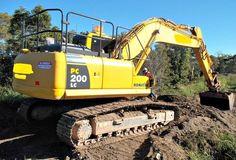 Machinery Equipment (The Newest Komatsu Excavator: Hybrid PC200LC-8)