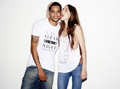 Lizzy and Jake for Casson London Unisex, T Shirts For Women, London, Collection, Tops, Fashion, Moda, Big Ben London, Fashion Styles