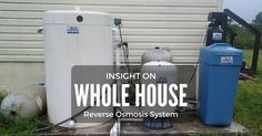 Whole house reverse osmosis system is a high-end technology that is incorporated in most of the modern filters to treat and purify contaminated water. Nowadays, many filters come backed up with this system for its effectiveness and efficiency.