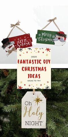 Best DIY Christmas Decoratıon 2020 #christmas Christmas Projects, Christmas Crafts, Christmas Decorations, Christmas Ornaments, Holiday Decor, Christmas Party Games, Holy Night, Merry, Gifts