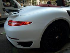 Cambiarías el color de este Porsche 991 Turbo S Cabrio? Car Wrapping by ...