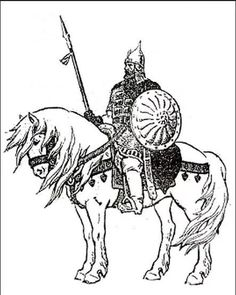 Best choices for hunters viking Medieval Drawings, Viking Logo, Russian Fashion, Russian Style, Vikings, Folk, Character Design, Arms, Horses