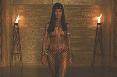 Egyptian warrior girl The Mummy