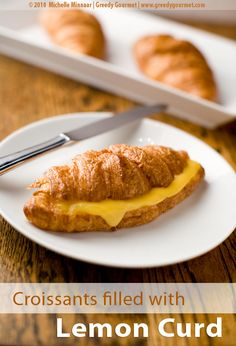 Image result for lemon curd croissant
