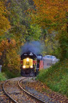 Peninsula, Ohio: Cuyahoga Valley Scenic Railroad