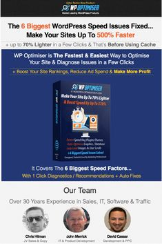 WP Optimiser Review – The Fastest & Easiest Way to Optimise Your WordPress, Diagnose and Fix Issues Speed in a Few Clicks And Make Your WP Site up to 70% Lighter + up to 500% Faster Include Real Time Server & Host Monitoring #pluginforwordpress #digitalproductreview #siteoptimisationplugin