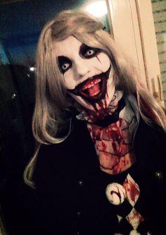 Kinder bleibt dem Zirkus fern! Der Horrorclown verspeist Euch zum Frühstück Halloween Carnival, Halloween Kostüm, Halloween Face Makeup, Freaky Clowns, Insane Clown, Scary Makeup, Cosplay Costumes, Weird, Jokers