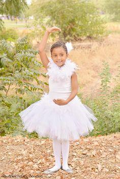 DIY White Swan Costume - A Pumpkin And A Princess