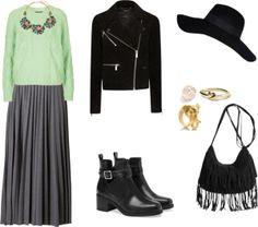Pleated skirt 3