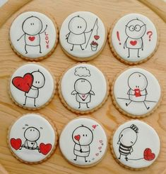 25 Gorgeous Painted Rocks Valentine& Day Ideas - DIY Home Decor - # . - Event Planning - 25 Gorgeous Painted Rocks Valentine& Day Ideas – DIY Home Decor – # … - Valentines Day Cookies, Valentines Baking, Valentine Cookies, Valentines Day Decorations, Valentines Diy, Christmas Cookies, Valentine Desserts, Iced Cookies, Royal Icing Cookies