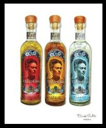 Une forme de marketing qui n'est pas de très bon goût... mais, après tout, Frida aimait la tequila!
