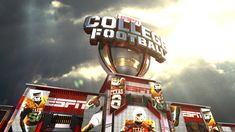 ESPN College Footaball Rebrand - Ned Piyadarakorn :: Motion Graphic Designer / Animator