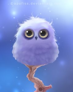 polar owl by Apofiss.deviantart.com on @deviantART I'm naming it Hedwig