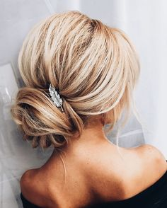 A wrapped low bun and a small bridesmaid hair updo, chic hairstyles, formal Romantic Hairstyles, Chic Hairstyles, Best Wedding Hairstyles, Pretty Hairstyles, Bridal Hairstyles, Black Hairstyles, Hairstyle Ideas, Hair Ideas, Romantic Updo