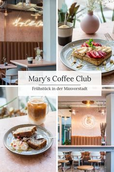 Mary& Coffee Club - Brunch in Maxvorstadt - Mary& Coffee Club is the new brunch hotspot in Munich& Maxvorstadt. The stylish café s - Coffee Mug Wall Rack, Coffee Mug Display, Coffee Mug Holder, Baileys Irish Cream, But First Coffee, Best Coffee, Coffee Club, Coffee Shop, Cafe Restaurant