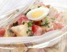 Ensaladilla rusa Fresco, Potato Salad, Potatoes, Ethnic Recipes, Amor, Olivier Salad, Salads, Spanish Kitchen, Healthy Recipes