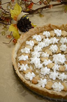 This Maple Cream Tarte was born after I made Maple Cream Tartlets and nobody could stop at 1 or 2 tarts! #Thanksgiving#Fall#Entertaining via @thewineloverski Maple Cream, Things To Come, Desserts, Tailgate Desserts, Deserts, Dessert, Food Deserts