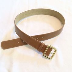 """❗️SALE❗️Camel colored belt This is a like new camel color belt in EUC. I bought it from Nordstrom 2 months ago and have only worn it once. It is 1 1/2"""" wide with a brass buckle. It's super pretty, I just want to look for a skinnier one.‼️Price Firm unless bundled‼️ Nordstrom Accessories Belts"""