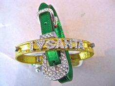 Christmas I Love Santa Holiday Crystal Bling Dog Cat Collar - choose red, green, silver or gold SALE!