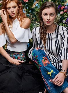 Shop the Alice + Olivia Spring #Fashion Editorial at http://www.styleforfree.com/#stylebuzz