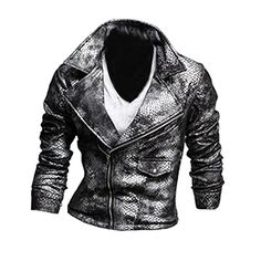 Partiss Mens Crocodile Leather Slim Fit Jacket,Medium,Grey Partiss http://www.amazon.co.uk/dp/B00RX7U5YY/ref=cm_sw_r_pi_dp_3YYkvb1629CQ4