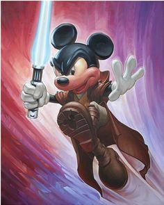 Jedi Mickey