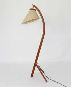 Very Large Italian Made Modern Arc Floor Lamp LightworksOnline - Anglerfish chair with a big lamp