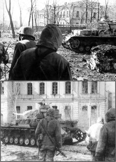 Charków - Kharkov, 1943 | after the third Battle of Kharkov, which was a series of battles on the Eastern Front, undertaken by the German Army Group South against the Soviet Army, around the city of Kharkov between 19 Feb 1943 and 15 Mar 1943. The German counterstrike led to the destruction of approximately 52 Soviet divisions and the recapture of Kharkov and Belgorod. Kharkov Oblast, Ukraine, Soviet Union. April 1943. ⍢ https://de.pinterest.com/kharkov43/ww2-third-battle-of-kharkov-1943/