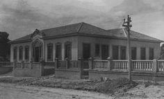 Fachada da Casa da Criança, instituição inaugurada em 1º de fevereiro de 1948. Acervo: Moacir Andrade.