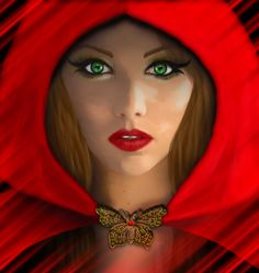 Red Riding Hood by NeverendingMystery.deviantart.com on @DeviantArt