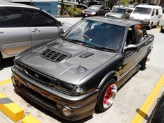 Nothing but the sexiest cars; JDM and no Honda Civics, I promise. Nissan Sentra B13, B13 Nissan, Nissan Tuning, Autos Nissan, Corolla Wagon, Honda Civic Vtec, Datsun Car, Volkswagen Golf Mk2, Good Looking Cars