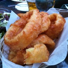 Beer Battered Onion Rings @ Sierra Nevada Brewing Co., CHICO, CA