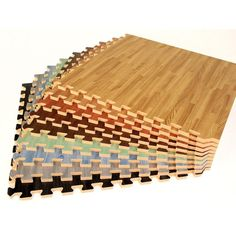 Groovy Mats Grey 24 in. x 24 in. Comfortable Wood Grain Mat (100 sq.ft. / Case) - GYCWGMGY - The Home Depot