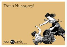 that is mahogany!!