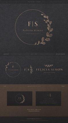 Logo Design, Branding kit, Geometric Logo, Minimalist Logo, … – Beauty & Seem Beautiful Cosmetic Logo, Blog Logo, Boutique Logo, Fashion Logo Design, Web Design, Round Logo Design, Brand Design, Type Design, Logo Photographe